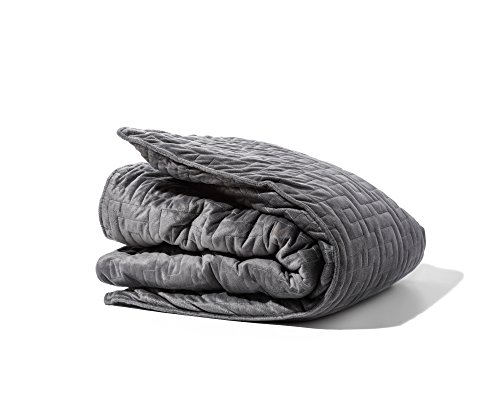 Gravity Blanket: The Weighted Blanket For Sleep, Stress and Anxiety, Space Grey...