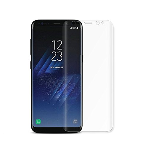 Price comparison product image Samsung Galaxy Note 8 Screen Protector Glass, icso Premium Sensitive Touch Anti-Fingerprint HD TPU Screen Protector Film for Samsung Galaxy Note 8