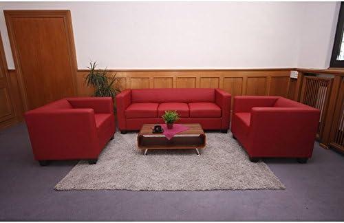 Homy - Conjunto Sofas LILLE 1 Sofa 3 Plazas + 1 Sofá 2 ...