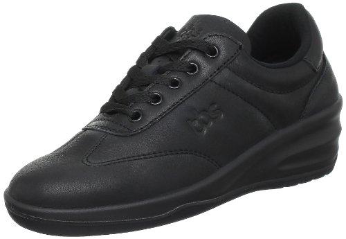TBS Dandys - Zapatos de cuero para mujer Negro (Noir (Noir 5704))