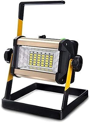 EONHUAYU Foco LED Portatil, LED Batería Recargable Proyector con ...