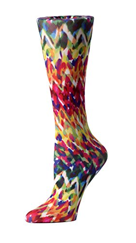 Cutieful Women's Nylon 8-15 Mmhg Compression Sock Animal Fire from Cutieful