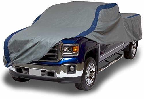 Duck Covers Weather Defender Pickup Truck Cover, Fits Crew Cab Dually Long Bed Trucks up to 22 (2009 F150 Truck)