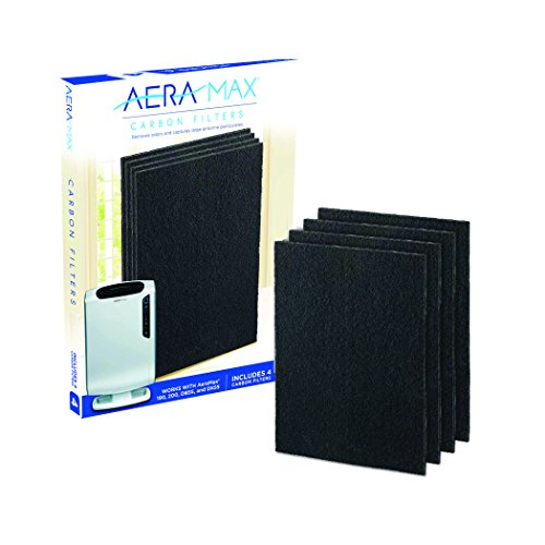 AeraMax 200 Air purifier Carbon Authentic Replacement Filters - 4 Pack (9324101) (Air 200)