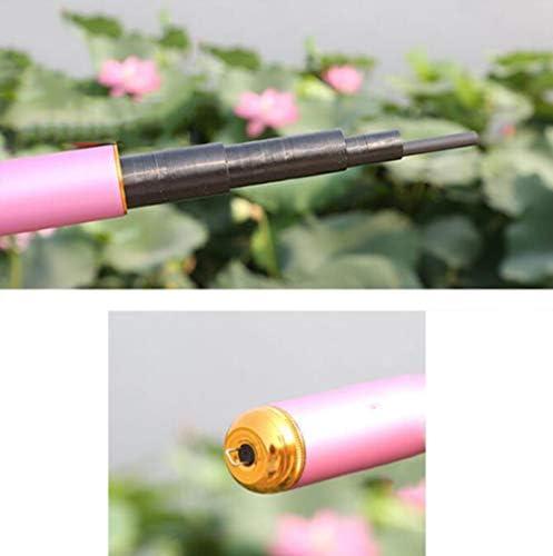 NS SN Súper Duro 19 Tono 8h Caña Alto Carbono Spinning Pole Rosa ...