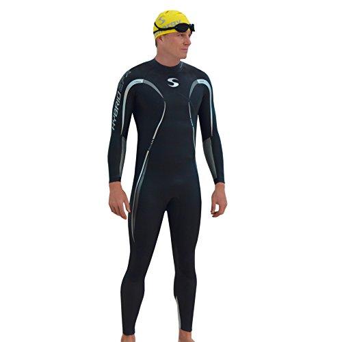 Synergy Hybrid Men's Fullsleeve Triathlon Wetsuit - Suit Tri Itu