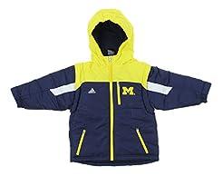 adidas NCAA Boys Toddler/Kids Michigan W...