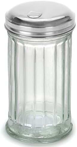 Kangaroo's Flip Cap Glass Sugar Dispenser 12 Ounce