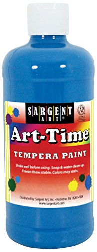 16 oz Turquoise Time Tempera Paint - Sargent Art 17-6461