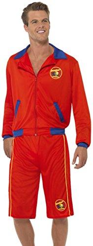 Lifeguards Costume (Baywatch Beach Men's Lifeguard Costume (Large))
