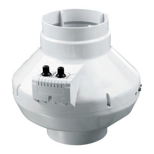 Drehzahlregler Rohrventilator dalap/® Turbine P 100 T mit Temperatur u