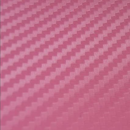 127 cm x 30 cm RUNGAO Adhesivo de Vinilo de Fibra de Carbono Brillante para Coche 3D