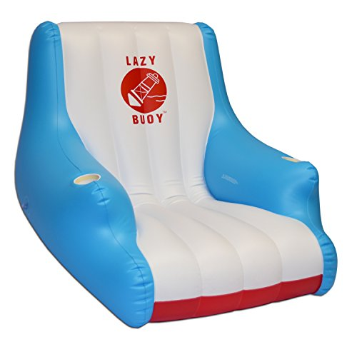 GoFloats Lazy Buoy Floating Lounge Chair, Premium Quality wi