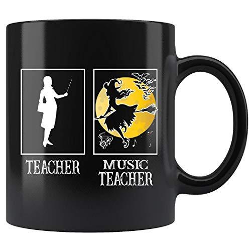 Music Teacher Mug, Halloween Witch Mug Coffee Mug 11oz Gift Tea Cups 11oz]()