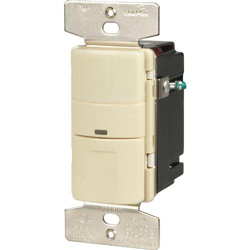 Cooper Wiring Devices 5-Amp Almond 3-Way Occupancy Decorator Switch VS306U-A-K-L