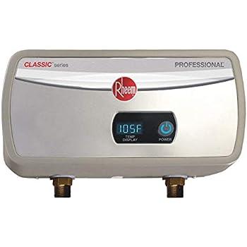 Rheem 120v Undersink Electric Tankless Water Heater 3500