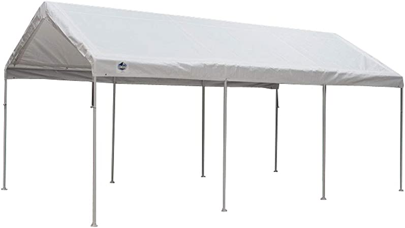 Amazon Com King Canopy 10 X 20 Foot Universal Canopy White Sun Shelters Garden Outdoor