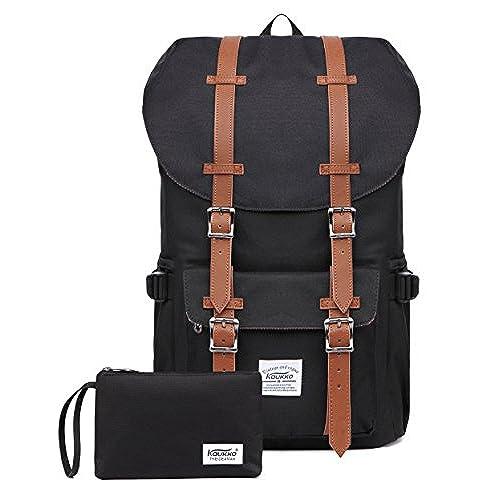 fcbba1a45f98 Canvas satchel book bag … Kaukko Laptop Outdoor Backpack ...