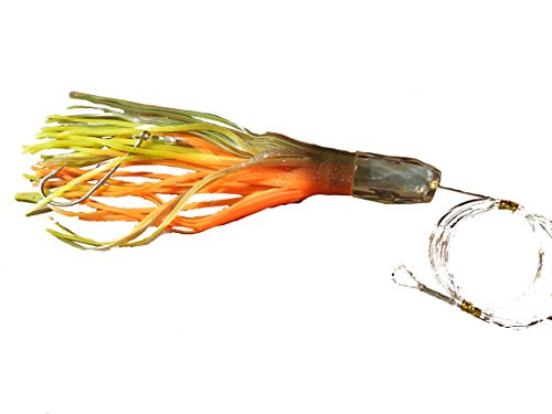 Clear Head Trolling Fishing Lure 12″ Rigged