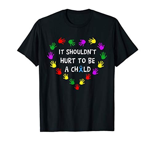 Child Abuse Prevention Stop Child Abuse T-shirt