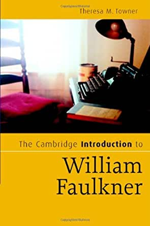 an introduction to the analysis of the literature by william faulkner Essays and criticism on william faulkner, including the works sartoris, the  as i  lay dying, or absalom, absalom is the reader's introduction to faulkner.