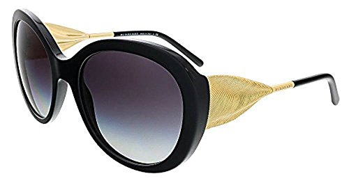 Burberry Women's BE4191 Sunglasses & Cleaning Kit Bundle
