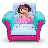 Kids, Children, Toddlers Upholstered Fabric Chair (Dora the Explorer)
