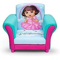 Kids, Children, Toddlers Upholstered Fabric Chair (Dora the Explorer)