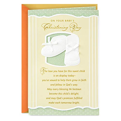 Dayspring Baptism Card (On Your Baby's Christening Day)