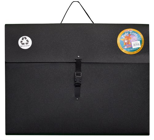 Star Products Poly Art Portfolios, 17-Inch by 22-Inch, Black