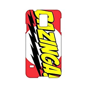 Angl 3D Case Cover Bazinga Phone Case for Samsung Galaxy s 5