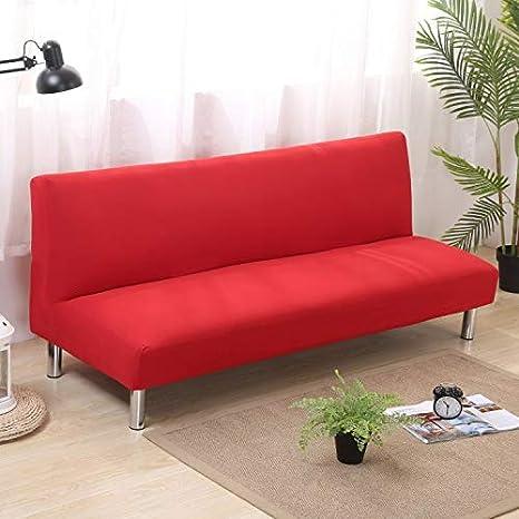 Amazon.com: Bonita funda de sofá cama plegable con capa de ...