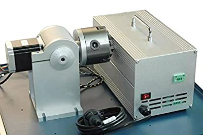 Laser engraving rotary attachment