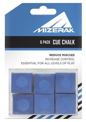 Escalade Sports P1810 Cue Chalk  6 Pack