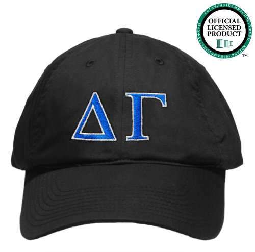 Delta Gamma (DG) Embroidered Nike Golf Hat, Various Colors