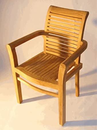 Dorian Teak Deck Chair