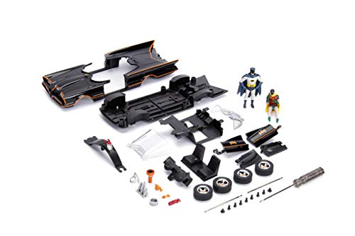 Jada Toys DC Comics Batman Classic TV Series Batmobile DIE-CAST Car Model Kit, 1: 24 Scale Vehicle & 2.75