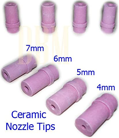 Abrasive Blast Replacement Sandblaster Nozzle Gun Ceramic Tips 4mm-7mm - Ceramic Sandblaster