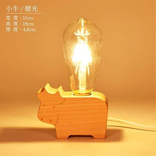 L06 Luz de la Noche Creativo Sueño Simple Alimentación de Luz Suave Nordic Moderno Lámpara de Mesa Pequeña Dormitorio con...