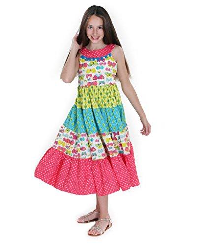 Jelly The Pug Sara Boho Maxi Woven Dress-4