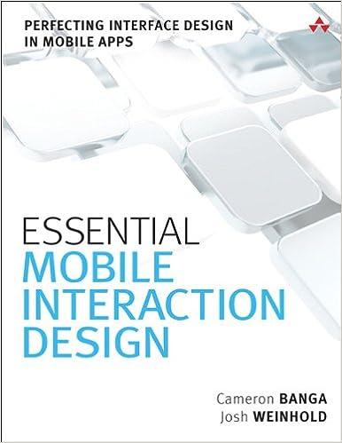 Designing Mobile Interfaces Ebook
