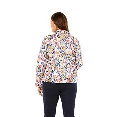 Jessica London Women's Plus Size Classic Cotton Denim Jacket at Women's Coats Shop