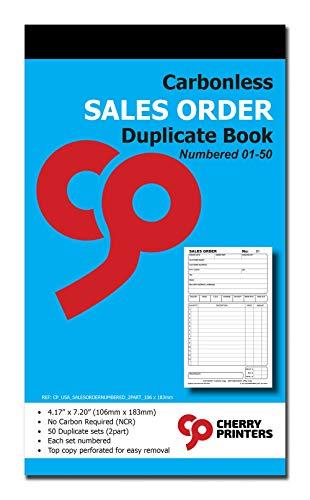 Cherry Carbonless Sales Order