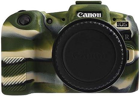 HATA - Carcasa de Silicona para cámara Canon EOS R (Textura Mate ...