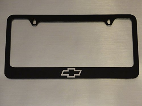 Chevy logo license plate frame, Glossy B - Chevy Trucks License Plate Shopping Results