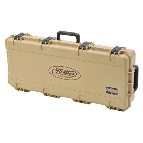 (SKB Corp Mathews Iseries Small Bow Case, Tan)