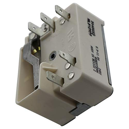 Endurance Pro 3148953, 3149400 Range Burner Infinite Control Switch PS336886 AP3029710 Replacement for Whirlpool