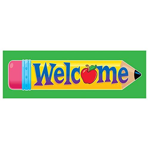 Trend Enterprises Bookmarks - TREND enterprises, Inc. Welcome Pencil Bookmarks, 36 ct