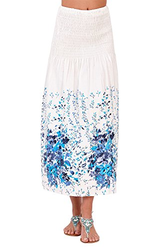 36 Rouge Bleu Femme Pistache Petites Blanc Floral Fleurs dcontract Robe 4xqgOpX1w