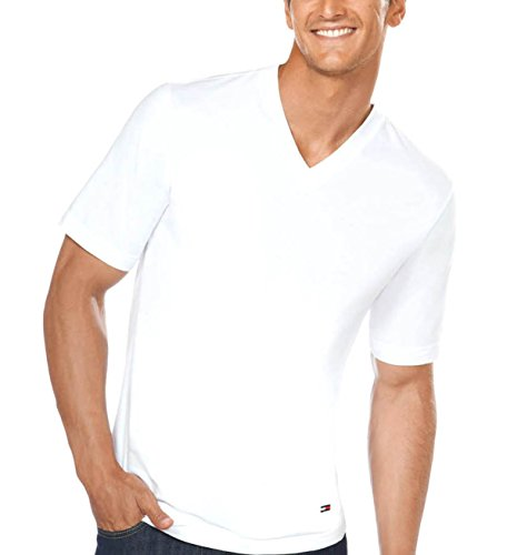 Tommy Hilfiger Essentials 100% Cotton V-Neck Crew T-Shirt for sale  Delivered anywhere in Canada